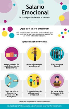 Salario Emocional: la clave para retener el talento #infografia #infographic #rrhh