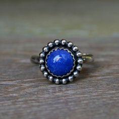 Celestial+Sphere+Lapis+Lazuli+Ring+Sterling+Silver+by+KiraFerrer,+$45.00