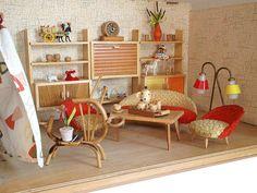 1960er Dohnalek Ein-Zimmer-Stube Bodo Hennig Regal | Flickr - Photo Sharing!