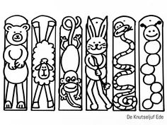 Free Printable Bookmarks, Diy Bookmarks, Cute Coloring Pages, Printable Coloring Pages, Student Crafts, Zoo Activities, Bible School Crafts, Bookmark Craft, Art Cart
