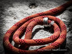 "A different kind of ""tying the knot""  Rock climbing wedding  Wedding Photography 