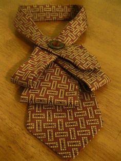 full view :: recycled tie.                                                                                                                                                                                 More