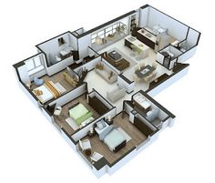 25 More 3 Bedroom Floor Plans L Shaped House Plans Houseplans Com Sweet Home Gallery House Floor Plans Or Inspirational L Shaped 2 Story House House Plans For Sale Buy South African House Designs With Floor Plans Mlaenterprises L Shaped House Plans, 3d House Plans, Small House Floor Plans, Simple House Plans, Dream House Plans, 3d Home Design, Design Your Own Home, Design Your Dream House, Küchen Design