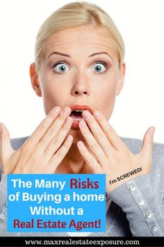 Buying a home without a real estate agent is risky business. An exceptional buyer's agent does a lot for you, the least of which is showing you homes! Real Estate Articles, Real Estate Information, Real Estate Tips, Real Estate Agency, Real Estate Marketing, Online Marketing, Home Buying Tips, Risky Business, Sell Your House Fast