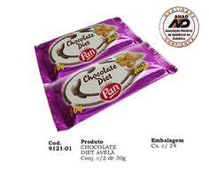 Chocolate com Avelã Diet