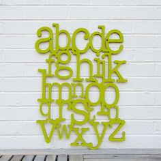 Alphabet on the Wall