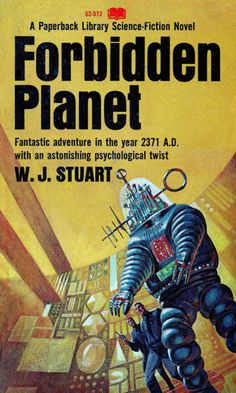 Forbidden Planet. Cover art by Jack Gaughan