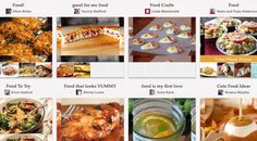 Top Food Boards On Pinterest