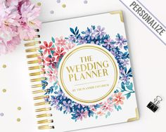 The Wedding Planner Keepsake Book And By Notableplanners On Etsy