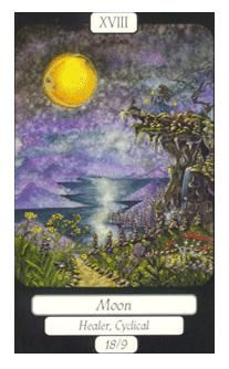 August 6 Tarot Card: The Moon (Merry Day deck) All the answers you need are not right in front of you. The most profound wisdom lies deeper and further now...