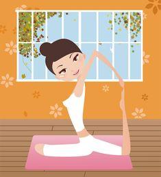 Yoga Cartoon | yoga_cartoon