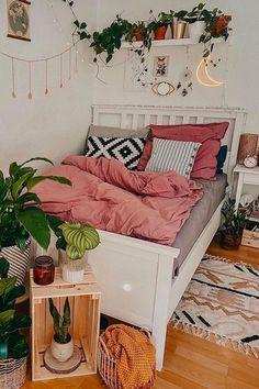 Room Ideas Bedroom, Home Bedroom, Bedroom Decor, Girls Bedroom Colors, Warm Bedroom, Stylish Bedroom, Dream Bedroom, Bedroom Furniture, Cute Room Decor