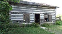 Francis Log House, Cannington, Ontario Blacksmith Shop, Log Homes, Blacksmithing, Ontario, Garage Doors, Canada, Outdoor Decor, House, Home Decor