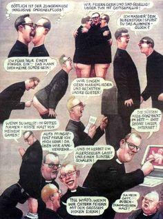 Karikaturen von Manfred Deix