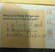 Epic answer, kid!