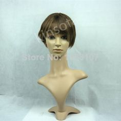 Celebrity Noble Hairstyle Golden 100% Human Hair Newest Short Wig cheap wig wholesale price $70.00