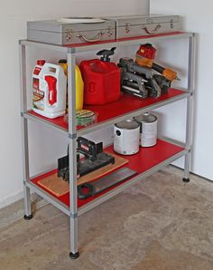 65 Best 80 20 Projects And Uses Images Work Shop Garage Tools