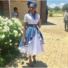 Shweshwe 2018 for South Sotho Dresses ⋆ fashiong4