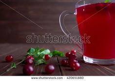 Berry compote - stock photo