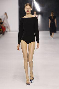 Dior Cruise 2014 – Look 49: Black silk body.Discover more on www.dior.com #Dior