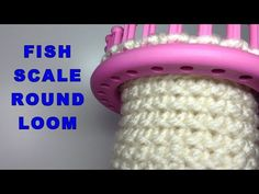 Round Loom Knitting, Loom Knitting Stitches, Knifty Knitter, Loom Knitting Projects, Embroidery Stitches, Loom Flowers, Knitted Flowers, Loom Patterns, Crochet Patterns