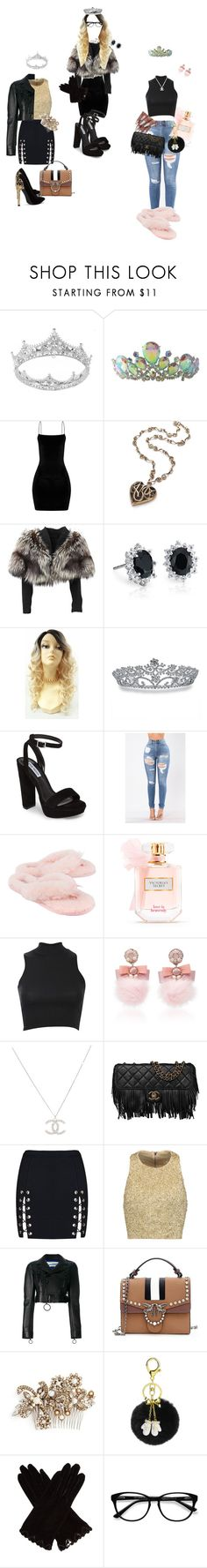 """""""Bday outfits #3"""" by dollabill256 ❤ liked on Polyvore featuring Lolita Lempicka, Blue Nile, Bling Jewelry, Steve Madden, UGG, Victoria's Secret, Pilot, Ranjana Khan, Chanel and Alice + Olivia"""