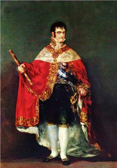 Retrato de Fernando VII  - Francisco de Goya