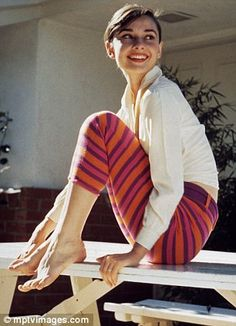 Sophisticated, intellectual, artistic, altruistic.  Miss Audrey Hepburn.