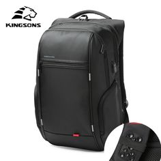 89cd7cba68 Laptop Backpack External USB Charge Computer Backpacks Anti-theft  Waterproof Bags for Men Women