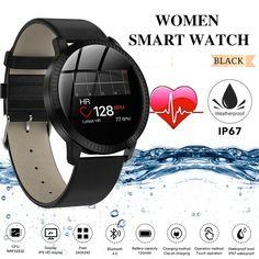 Montre Bracelet Connectée Femme Smartwatch Etanche Sport for iOS Android Samsung - Montre Connectée - idées de Montre Connectée Fitbit Flex, Bluetooth, Smartwatch, Ios, Android, Samsung, Sport, Watches, Ebay