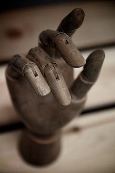 antique artists hand model...very chic