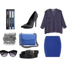 """""""Blue time"""" by queen-95 on Polyvore"""
