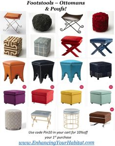 10 Classic Leather Ottomans - Add Versatile For Your Room Space Room Design Bedroom, Home Decor Bedroom, Interior Design Living Room, Tire Furniture, Cool Furniture, Furniture Design, Sofa Set Designs, Sofa Design, Living Room Sofa
