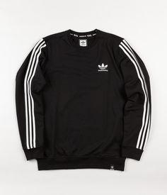 Adidas Clima 2.0 Crewneck Sweatshirt - Black