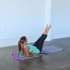 Connect mind and body with this challenging -- yet doable -- Pilates workout.