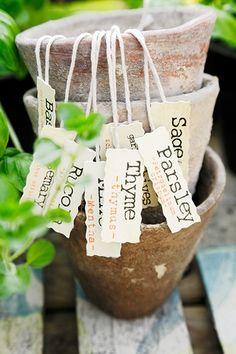 Quick & Fun DIY Plant Markers