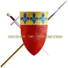 Hugues de Fontanges. This Lord of a noble family from Limousin and Quercy took the Cross in 1248 to join the sixth crusade.