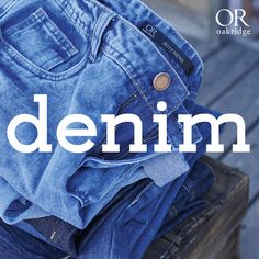 Our favourite fabric is staging a comeback with fresh silhouettes, new blue hues and love-worn fading. Update your wardrobe with this season's key denim items: the denim jacket, skinny jeans, the denim tunic and denim dungarees. Shop your favourite denim in-store and online now: http://bit.ly/1xcCWBX