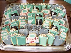 Birch and Tiffany Blue by A Dozen Eggs1, via Flickr