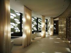 Spa Hotel Zurich - Wellness & Relaxation - The Dolder Grand Spa Design, Spa Interior Design, Interior Designing, Design Hotel, Urban Design, Design Ideas, Architectural Digest, Architectural Sketches, Architectural Photography