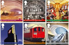150th anniversary of London Underground marked with new stamps