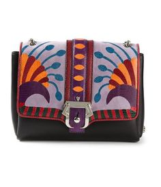 Such a cool and unique crossbody bag.