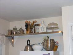 Wall Shelves Decorating Ideas Kitchen