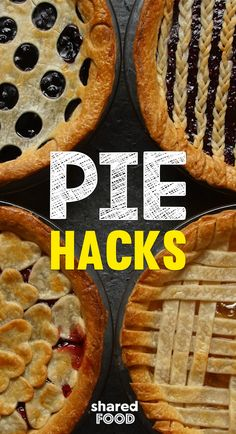 Making pies like grandma is not as easy as she made it look. From the perfect crust to the amazing filling, what was the secret?! The filling is up to you but the crust can look like a million bucks with these 4 easy as pie hacks!