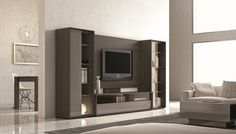 J&M Furniture | J&M Futon | Modern Furniture Wholesale | New York NY | New Jersey NJ :: Premium Wall Units :: Composition 220