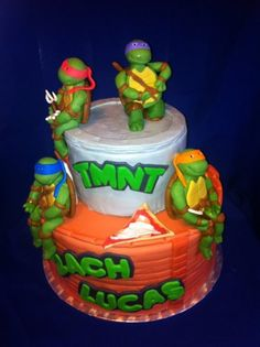images of teenage mutant ninja turtle cakes | Mutant Ninja Turtles - by lilforgetcakes @ CakesDecor.com - cake ...