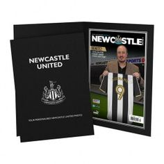 Personalised Newcastle United FC Magazine Cover This fabulous gift is sure to raise a smile as they see their surname on the shirt held by the Newcastle United Manager. The recipient™s forename and surname are also merged into the headline cover st http://www.MightGet.com/may-2017-1/personalised-newcastle-united-fc-magazine-cover.asp