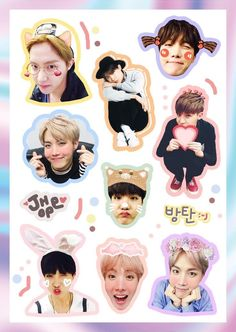 Hoseok you is way to cute Pop Stickers, Tumblr Stickers, Printable Stickers, Hoseok Bts, Jhope, Bts Anime, Just In Case, Just For You, Album Bts