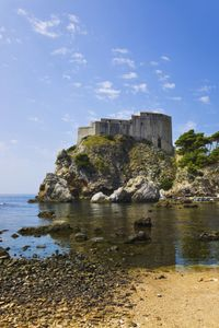 """Game of Thrones"" : Fans can imagine they're in King's Landing when they hit Dubrovnik, Croatia, where travel companies have launched ""Game of Thrones""-themed tours; envision an invasion of Wildings at Lake Mývatn in Iceland, or indulge in the Game of Thrones Experience, complete with archery lessons, at Castle Ward in County Down, Ireland."