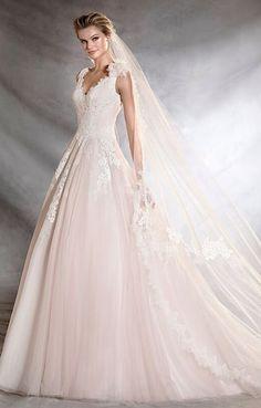 Wedding dress idea; Featured Dress: Provonias